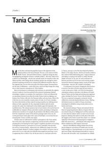 Tania article